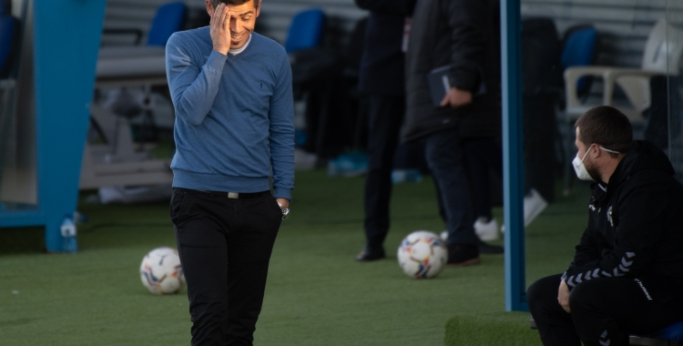 Hidalgo divendres passat al Fernando Torres de Fuenlabrada | Roger Benet