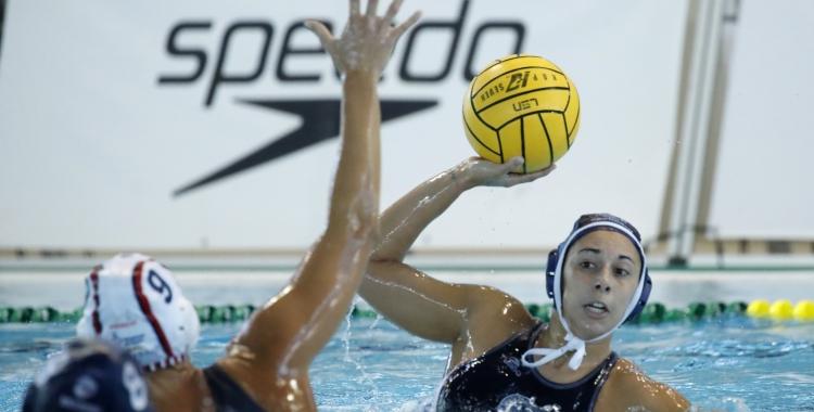Irene González, en el partit de la Supercopa | RFEN