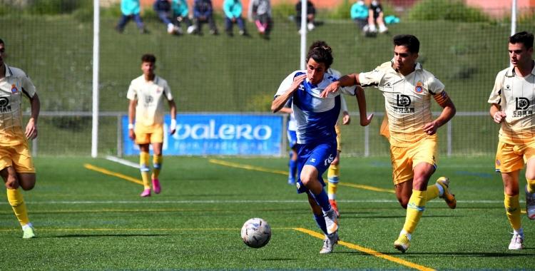 Vargas va ser l'autor d'un dels dos gols arlequinats | Cedida