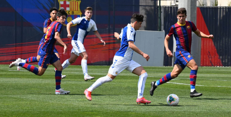 El Sabadell va superar per 0-2 el Barça dissabte passat | FutBaseCES