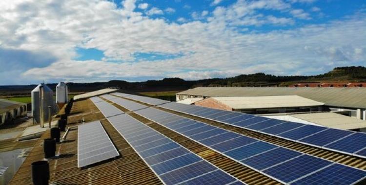 Instal·lació fotovoltàica en una teulada   ACN