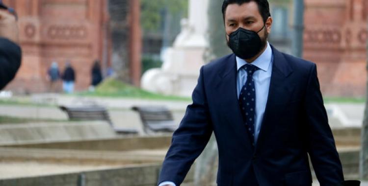 L'advocat Jorge Albertini acudeix a l'Audiència de Barcelona | ACN