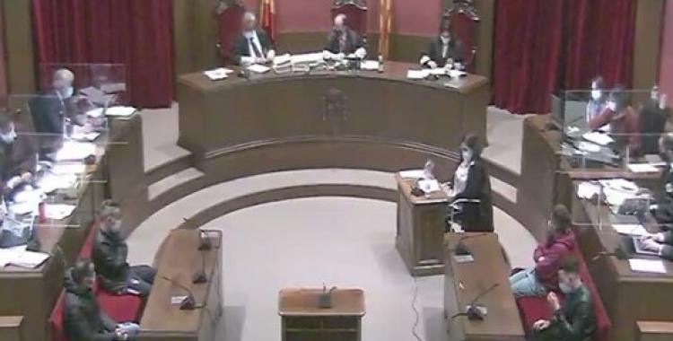 Sala de l'Audiència de Barcelona on es fa el judici/ ACN