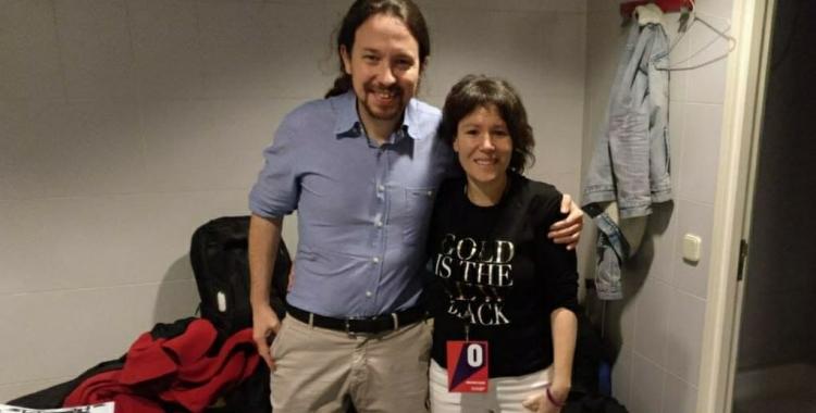 Pablo Iglesias i Marta Morell   Cedida