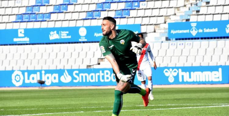 Mackay, en l'últim partit contra el Rayo | CES