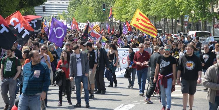 Manifestació de l'u de maig  de 2019 | Roger Benet