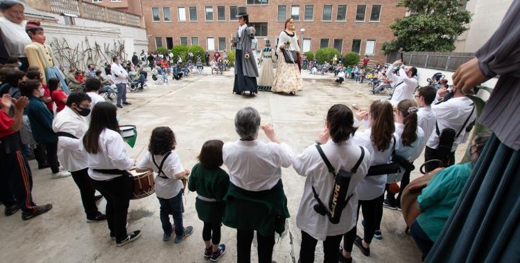 És el primer acte de les entitats de cultura popular al carrer i amb públic, des de l'esclat de la pandèmia | Ro