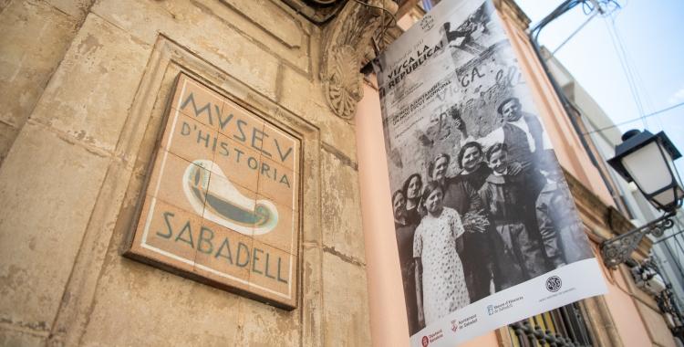 Detall de la façana del Museu d'Història de Sabadell | Roger Benet