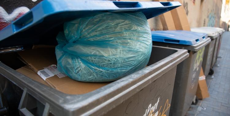 Un contenidor de Sabadell/ Roger Benet