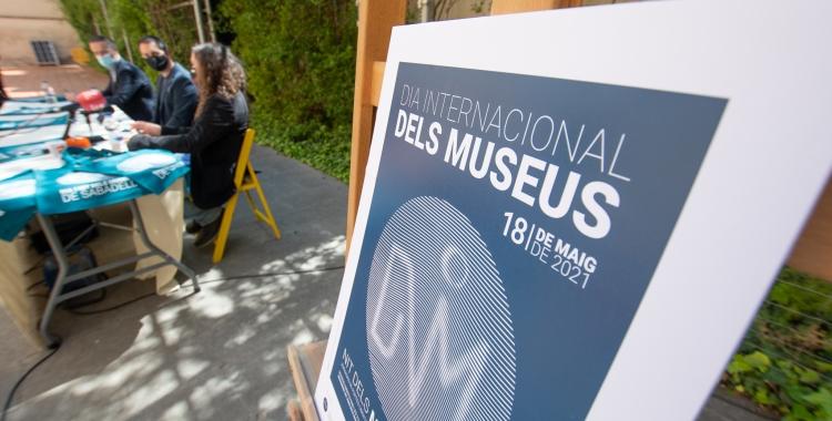 Presentació del Dia Internacional dels Museus a Sabadell   Roger Benet