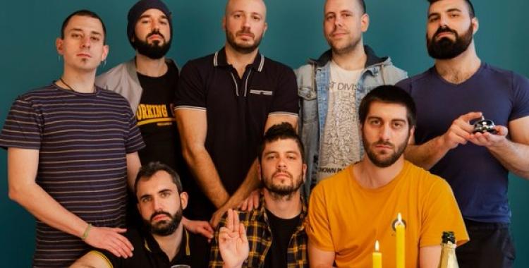 La banda d'ska Fantàctels   Cedida