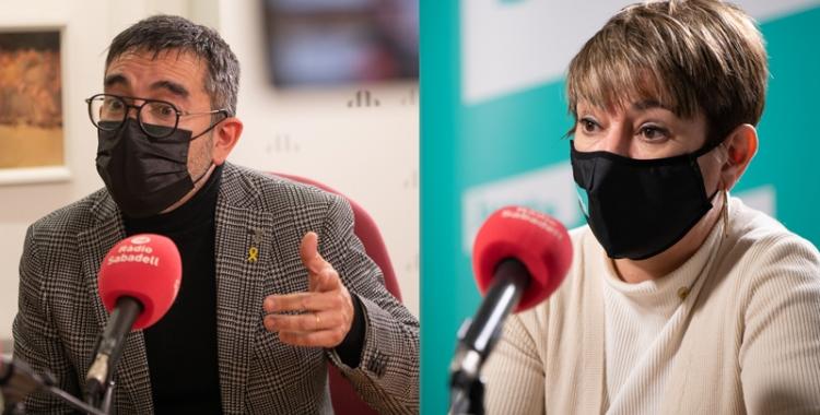 Gabriel Fernández i Lourdes Ciuró   Ràdio Sabadell