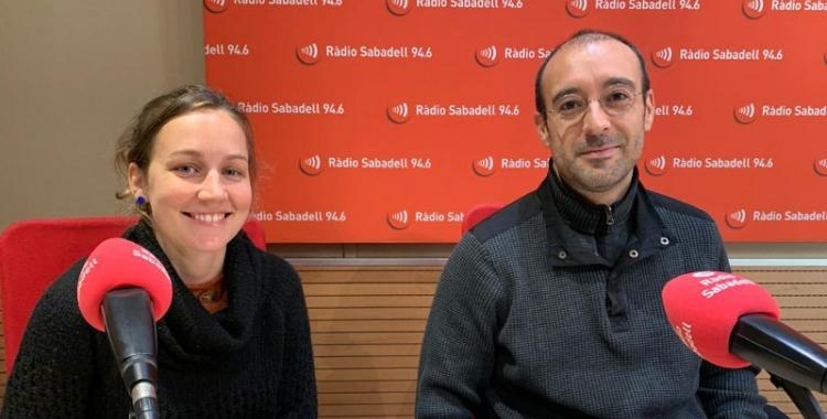 Júlia Collignon i Alberto Capitan, en una imatge d'arxiu   Mireia Sans