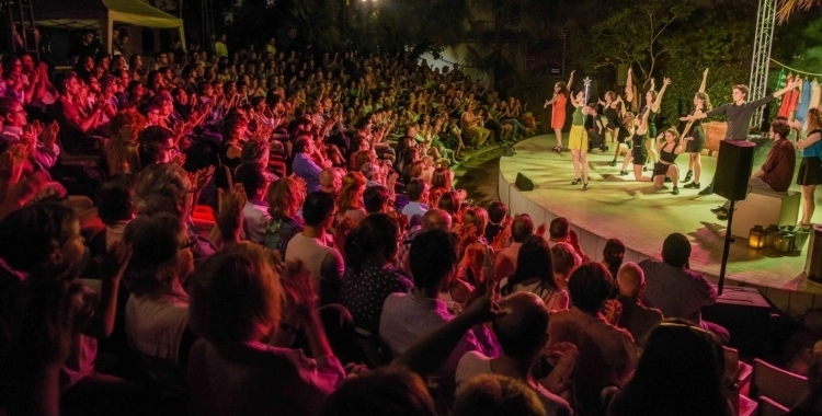 Un dels espectacles de la tercera edició del Fresc Festival   Roger Benet
