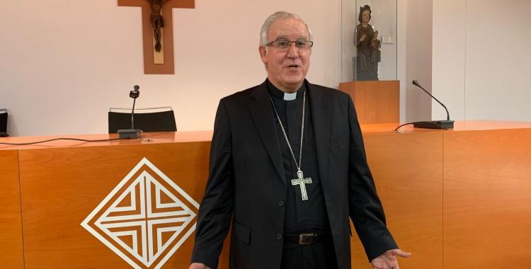 Saiz Meneses, a la seu del Bisbat/ Bisbat de Terrassa