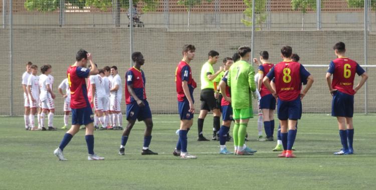 El Mercantil va encaixar la tercera derrota consecutiva | Sergi Park