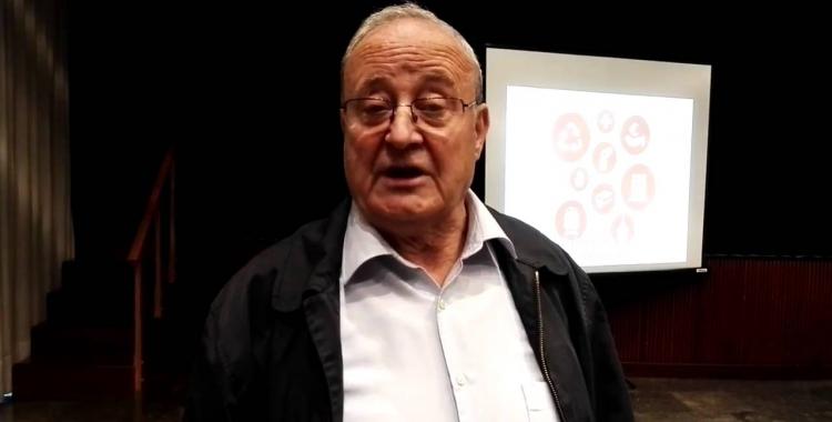 Lluís Casanovas en una foto de CCOO   Cedida