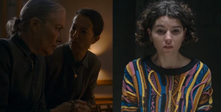 Sílvia Ricart (esquerra) i Mireia Vilapuig (dreta) a 'El inocente'   Netflix