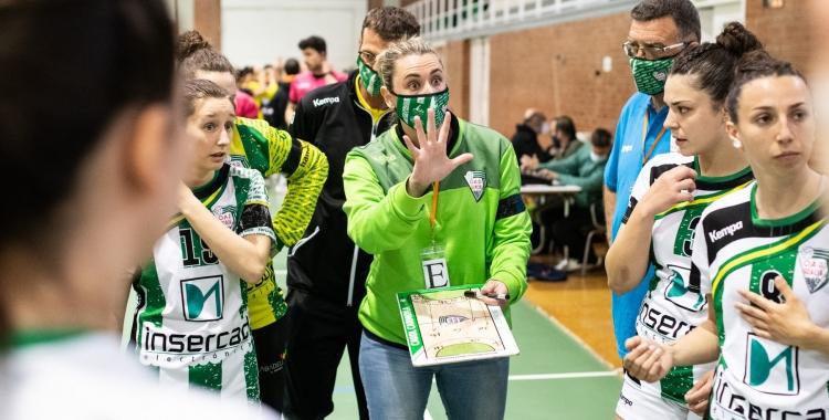 Carol Carmona seguirà al capdavant de l'equip femení | Eric Altimis