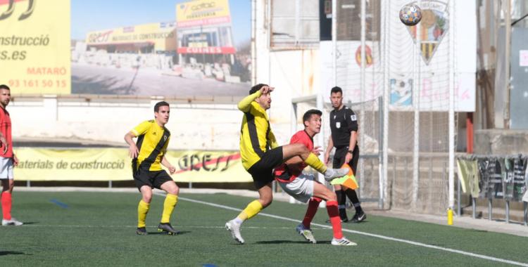 Tercer partit consecutiu que el Sabadell Nord encaixa tres gols o més | Romuald Gallofré (Mataró)