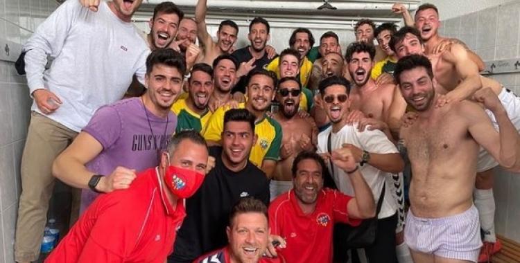 Els arlequinats confien celebrar demà l'ascens | Instagram