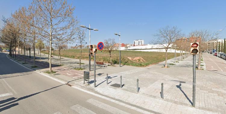 Espai on s'ubicarà el futur Pavelló dels Merinals | Google Maps