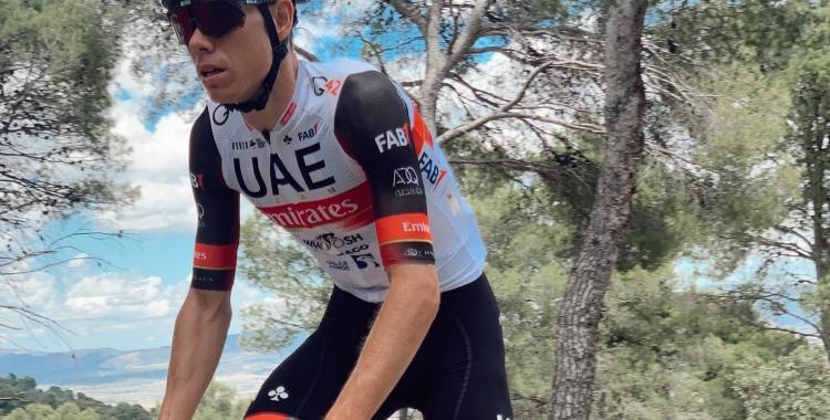 De la Cruz aquesta setmana a Alacant inspeccionant una de les etapes de la Vuelta   Twitter