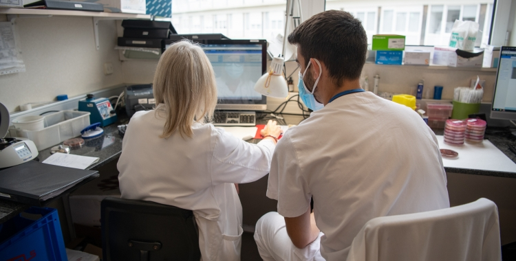 Laboratori del Tualí dedicat a analitzar les PCR | Roger Benet