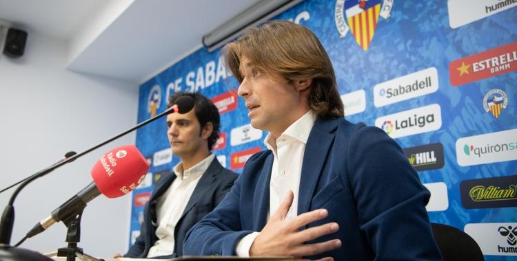 Jose Manzanera (dreta) estarà acompanyat enguany a la direcció esportiva | Roger Benet