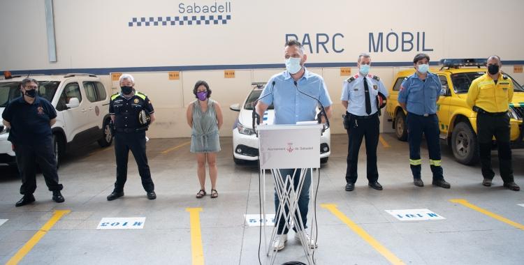 La Policia Municipal dobla els efectius per la Revetlla i es coordina amb la resta de cossos d'emergències   Roger Benet