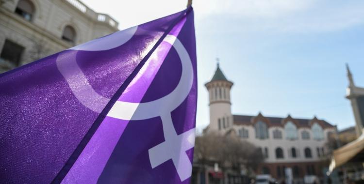 Un símbol feminista a la ciutat/ Roger Benet