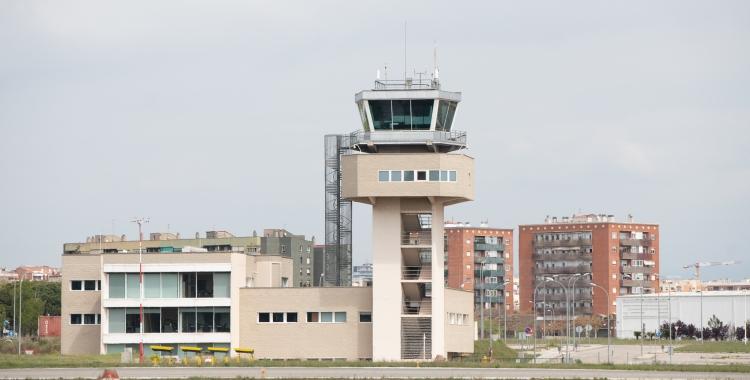 Torre de control de l'Aeroport de Sabadell   Roger Benet