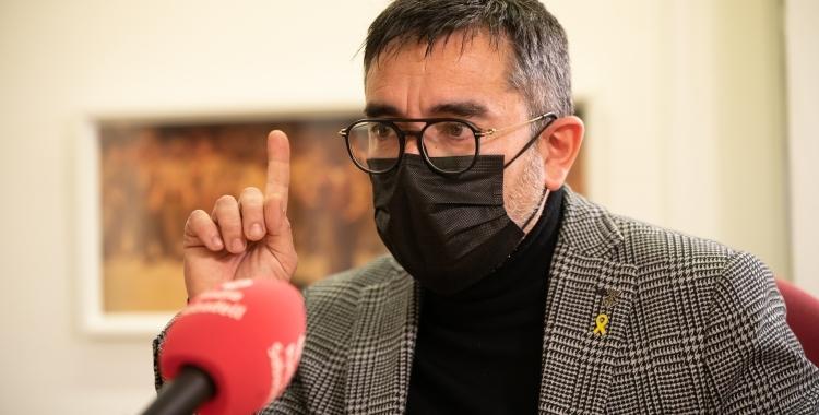 Gabriel Fernàndez, portaveu d'Esquerra   Roger Benet