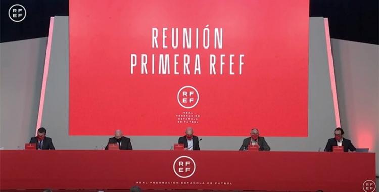 Imatge de la reunió a Las Rozas | RFEF