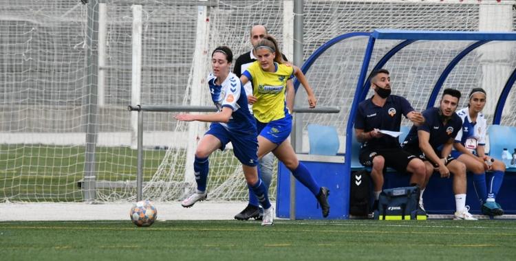 El femení arlequinat es va acomiadar de la seva afició en un xoc ple de gols   CE Sabadell