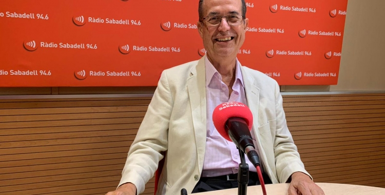 Josep Suàrez, a Ràdio Sabadell   Arxiu