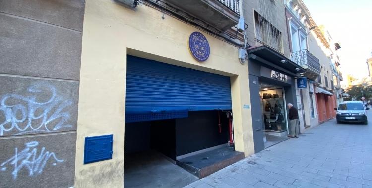 Façana de la Nit al carrer Sant Quirze   Raül Vázquez