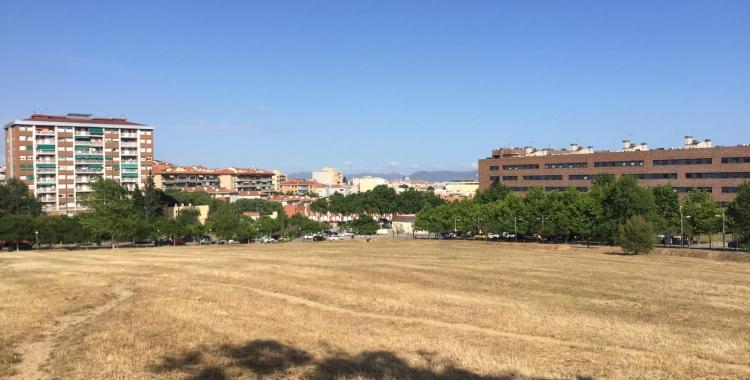Terreny on s'ubicarà el futur pavelló dels Merinals | Ràdio Sabadell
