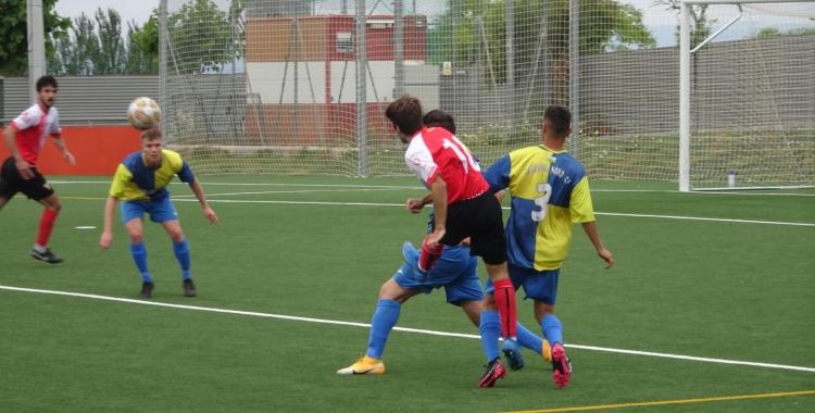 Al descans, el Sabadell Nord ja perdia per 3-0   Sergi Park