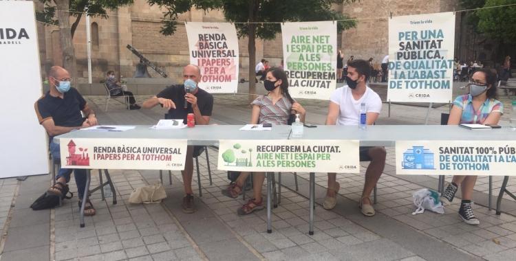 Serracant, Mansilla, Codina i Lara a la taula rodona   Ràdio Sabadell