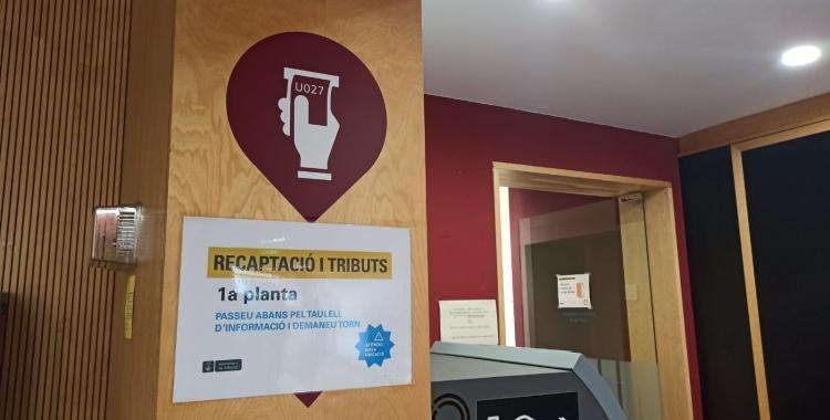 Recaptació de tributs a Atenció Ciutadana | Ràdio Sabadell