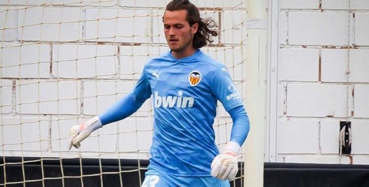 Emilio Bernad ha jugat una dècada amb el Valencia   Instagram