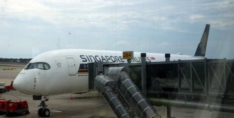 Un avió a la T1 de Barcelona   ACN