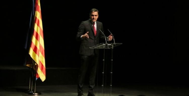 El president Pedro Sánchez al Liceu   ACN