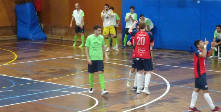 El Mataró, que no es jugava res, va esgarrapar un punt del carer Garcilaso | Sergi Park