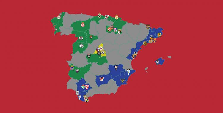Distribució dels dos grups de la Primera RFEF | Ràdio Sabadell