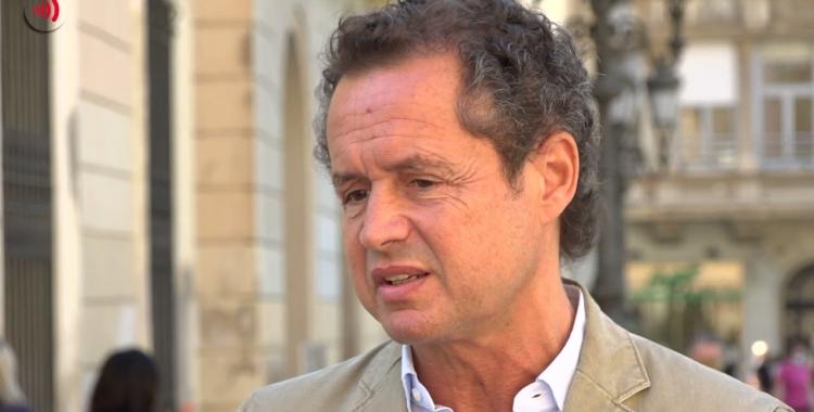 Lluís Matas en una entrevista amb Ràdio Sabadell   Roger Benet