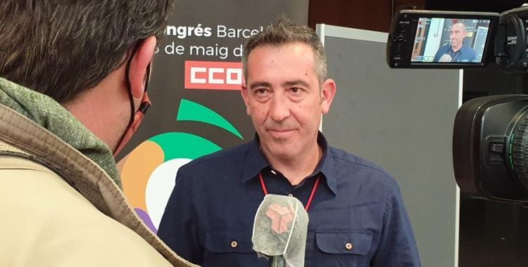 Ivan Ramos (CCOO)   Cedida