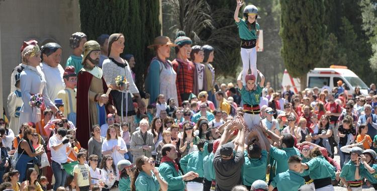 Festa popular a La Salut abans de la pandèmia   Roger Benet