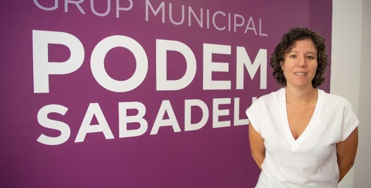 Morell ha donat explicacions en una roda de premsa aquest matí a la seu de Podem   Roger Benet